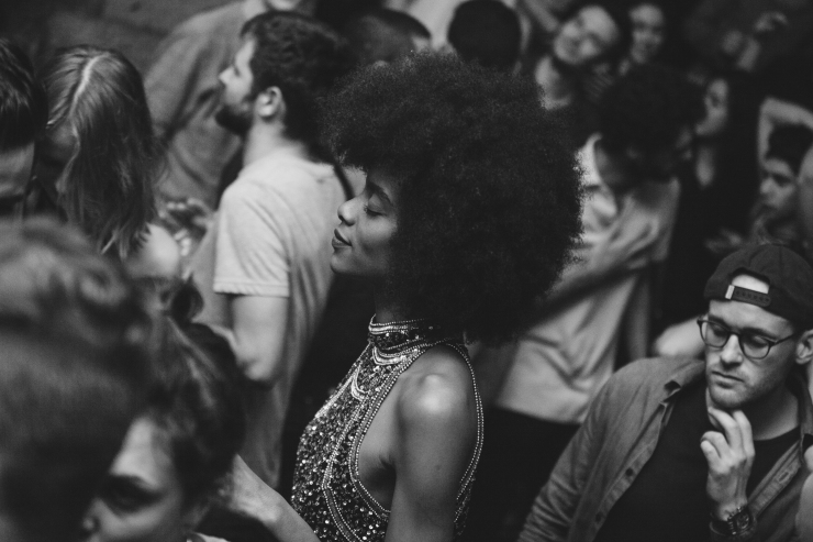 Afro via photopin (license)