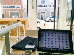 Working at Craft Coffee Newtown