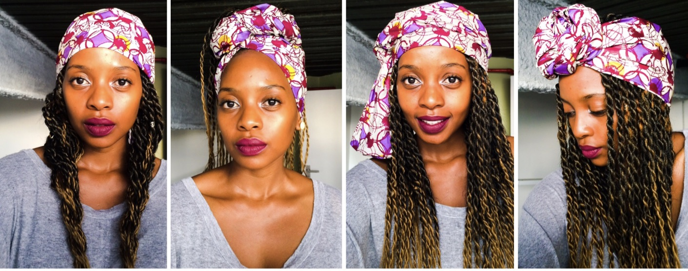 different head wrap styles