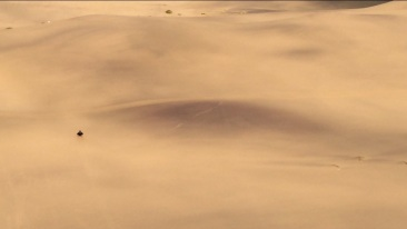 The longest dune I sled on!