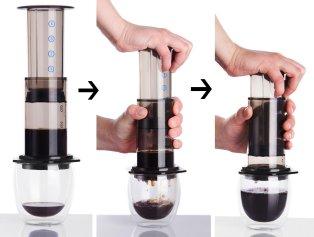 alternative brewing aeropress