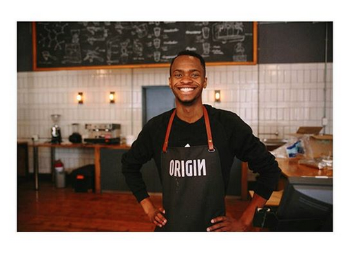 Origin Coffee barista joburg